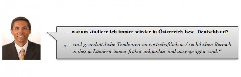 Helmuth Pirhofer: Warum studiere ich